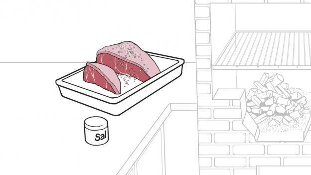 como salgar a carne