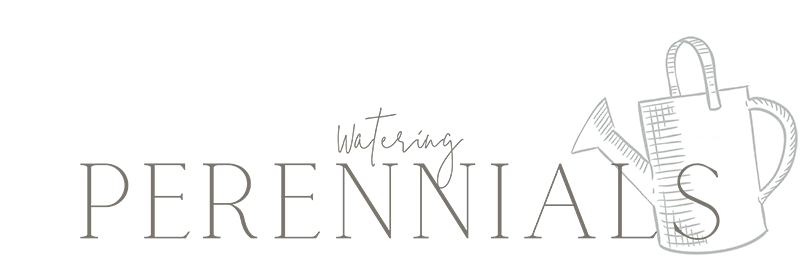 watering perennials text