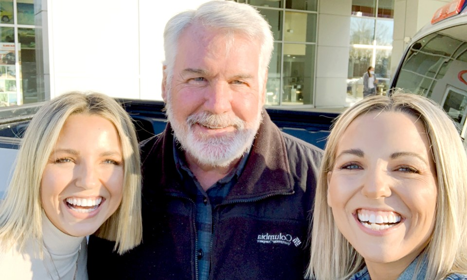 Fawn and Heather of Those Plant Ladies with Mike Johnson at Mike Johnson's Hickory Toyota.