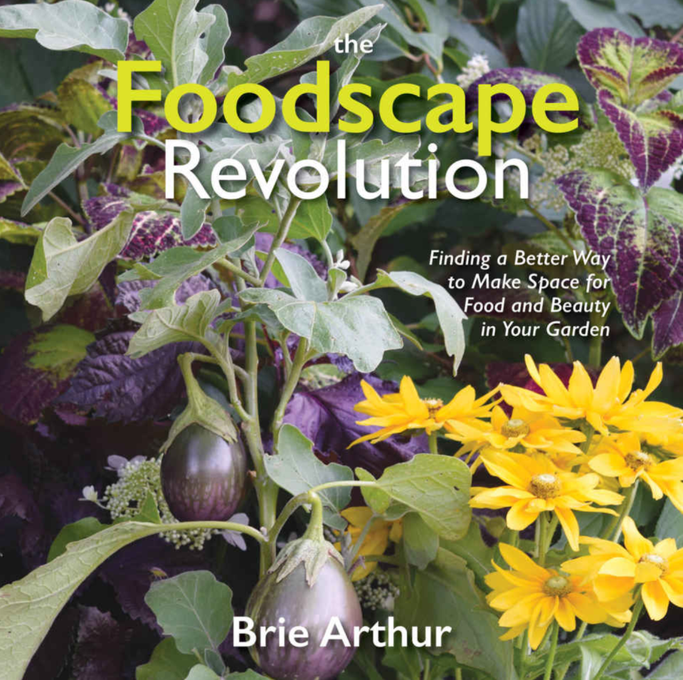 """Book cover: """"The Foodscape Revolution"""" by Brie Arthur."""