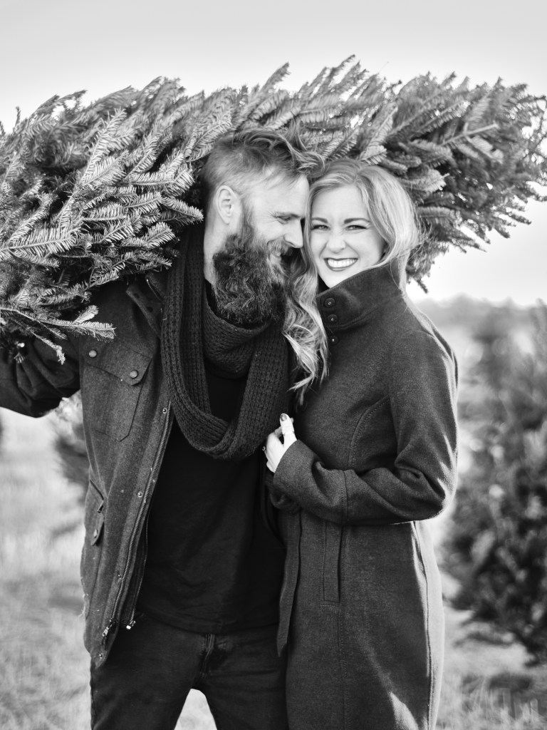 Shannon Von Eschen of Creekside Tree Nursery featured on the Those Plant Ladies blog; pictured here with her husband.