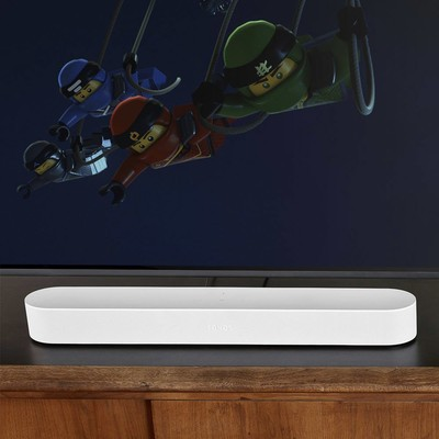 The Sonos Beam Prime Day deal includes a $40 discount and 2 $50 Amazon gift cards