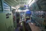 Cockpit einer Tupolew Tu-144