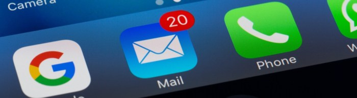 Email tips for event planners