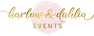 Harlow & Dahlia Events Logo