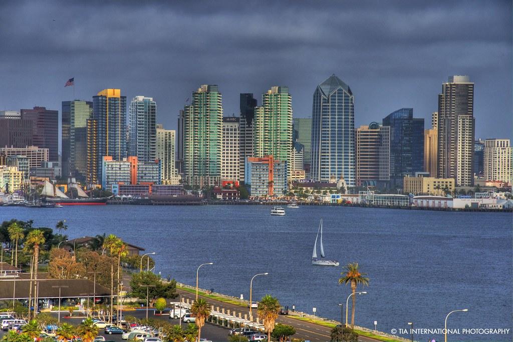 Skyline of San Diego
