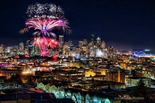 Seattle Welcomes the Year 2015