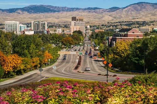 Capitol Boulevard & Downtown Boise.