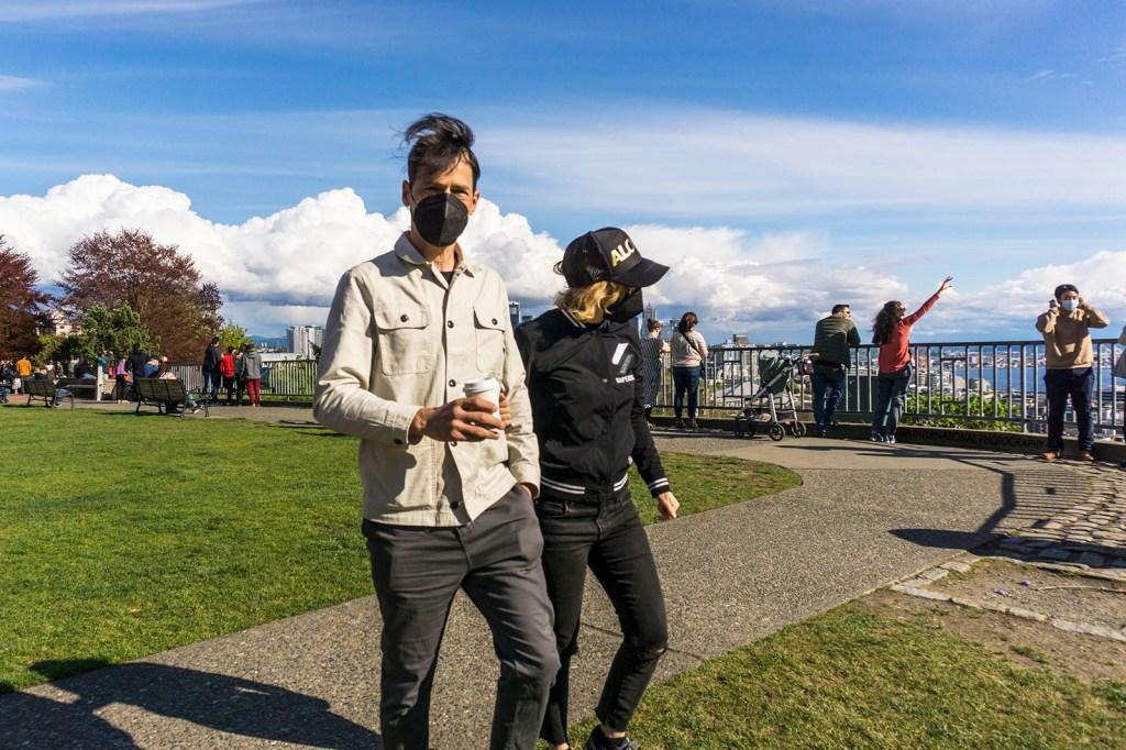 Kerry Park Sunday, Seattle (April 25, 2021)