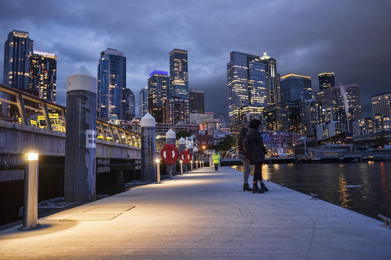 """Peers"" / Floating dock at Pier 62 / Seattle Waterfront (May 1, 2021)"