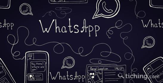 WhatsApp y educación -Tiching