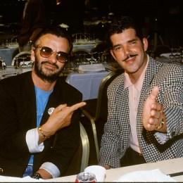 Yello Ringo Starr Boris Blank 1990