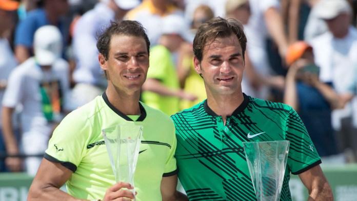 Bald an den Swiss Indoors zu sehen: Roger Federer und Rafael Nadal.