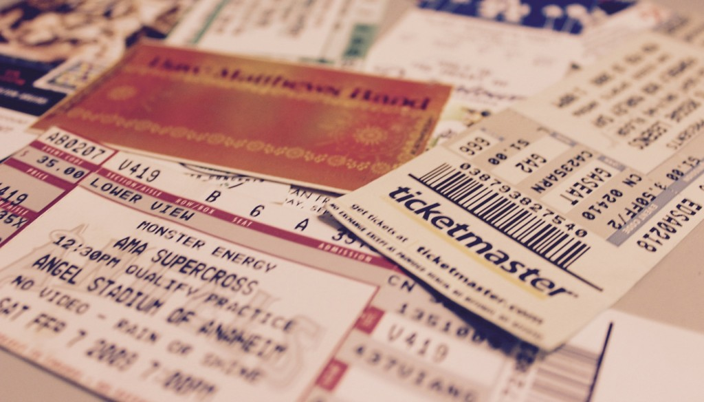 20 diy ticket stub