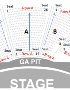 Jones beach seating with seat numbers also chart row  tickpick rh blog