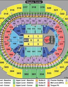 Rolling stones staples center seating chart also guide for and counting concert rh blog tickpick