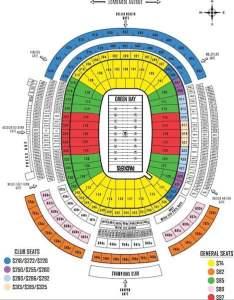 Lambeau field seating chart packers also green bay seat views tickpick rh blog
