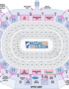 Food options at nassau coliseum also new york islanders seating chart seat view tickpick rh blog