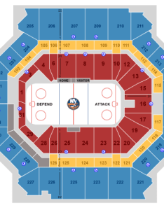 Barclays center seating chart ny islanders also nets  in seat views rh blog tickpick