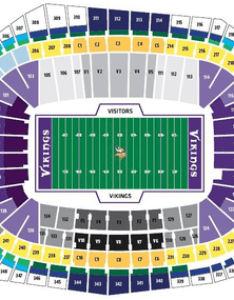 New vikings stadium seating chart also us bank guide tickpick rh blog