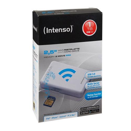 Discos duros externo Wifi de Intenso: Memory 2 Move Pro 1Tb