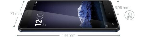 Weimei Force X es un Smartphone con una batería grande y duradera de verdad.