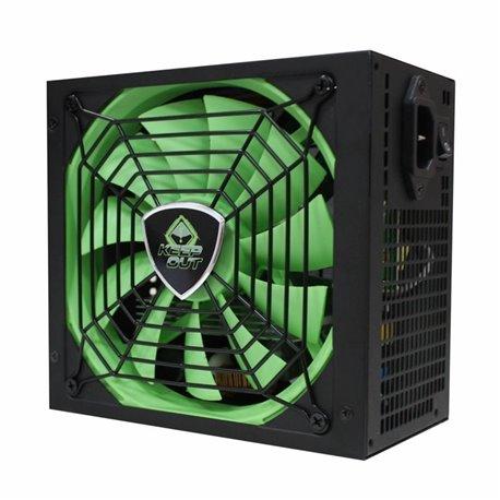 KEEP-OUT FX900MU 900W, ATX V2.31, EFICIENCIA 85%, VENTILADOR ULTRASILENCIOSO 14CM, CORRECTOR POTENCIA ACTIVO 63,24 €