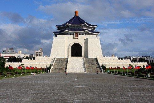 Chiang Kai-shek Memorial Hall Taipei, Taiwan via https://en.wikipedia.org/
