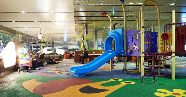 Changi Airport Fasilitas Gratis - Children Playground