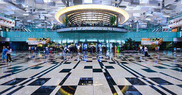Itinerary Singapore - changi airport