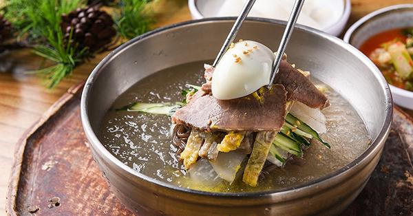 Korean Traditional Food - Naengmyeon