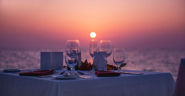 Pulau Cinta Gorontalo - Dinner Romantis