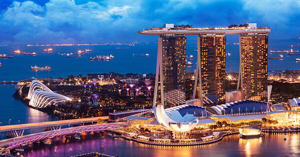 Tempat Wisata Singapura dalam Film Crazy Rich Asians - Marina Bay Sands