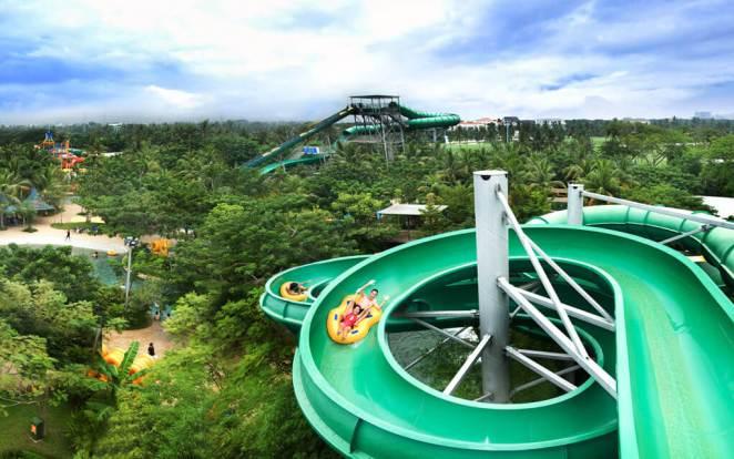 Tempat Wisata di Pantai Indah Kapuk Jakarta - Waterboom PIK