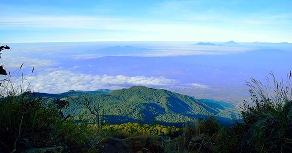 Upacara Kemerdekaan Indonesia - Gunung Ceremai