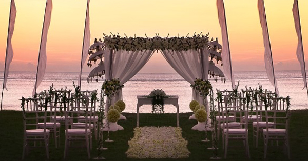 Venue Wedding di Bali Terindah - InterContinental Bali Resort