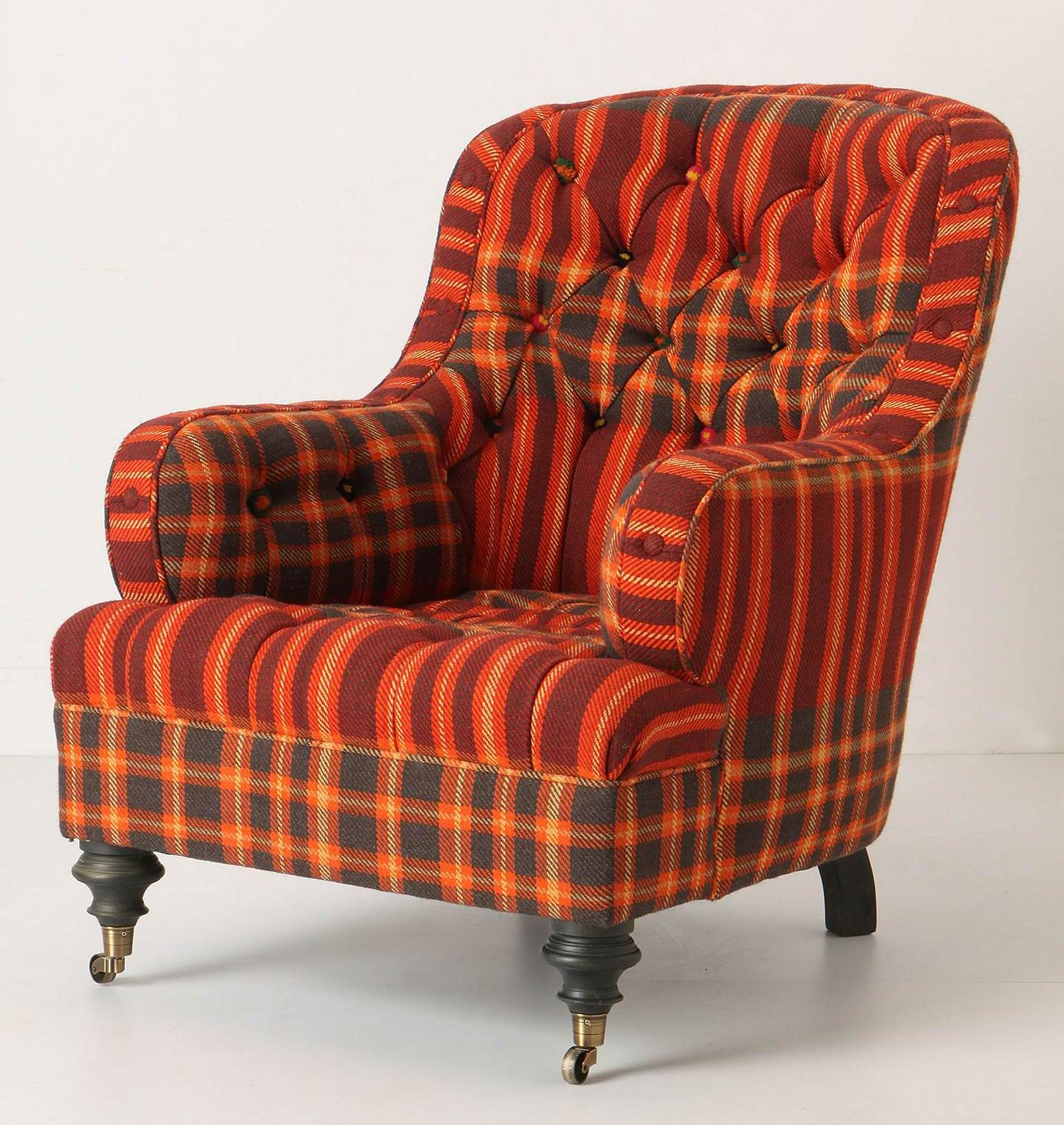 Plaid Chair Mad For Plaid Tilton Fenwick Curators Of Chic