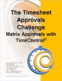 New white paper: The Timesheet Approvals Challenge