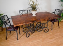 Branded Wrought Iron Tables - Three Featured Manufacturers