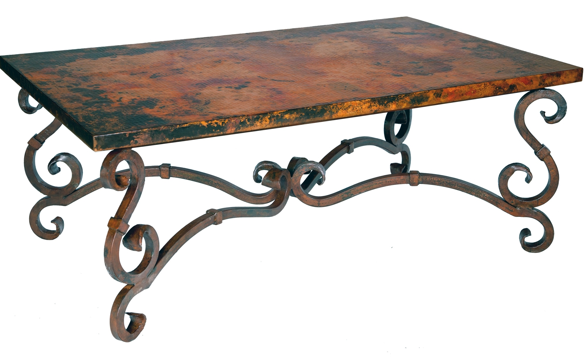s stunning copper wrought iron furniture by prima