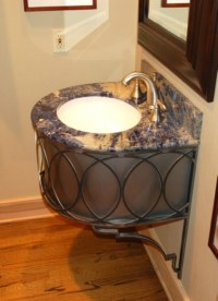 New! Wrought Iron Bathroom Vanities by Urban Ironcraft ...
