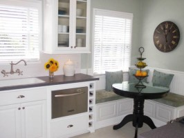 20 Small Eat In Kitchen Ideas & Tips + Dining Chairs ...