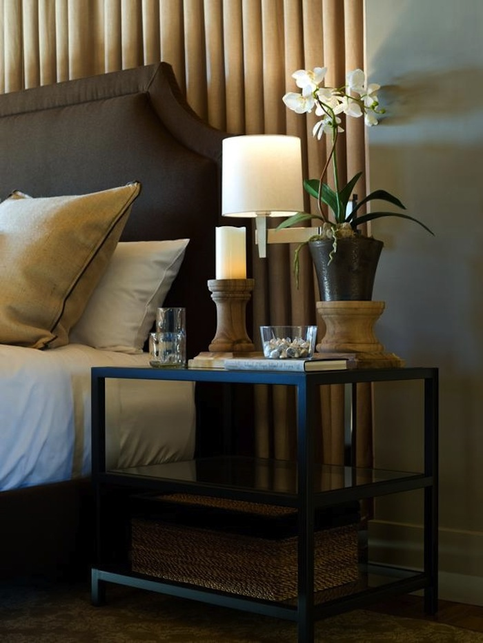 End Tables in the Bedroom