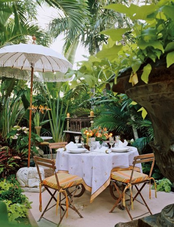 Outdoor Bistro Chairs Dining in the Garden  Artisan