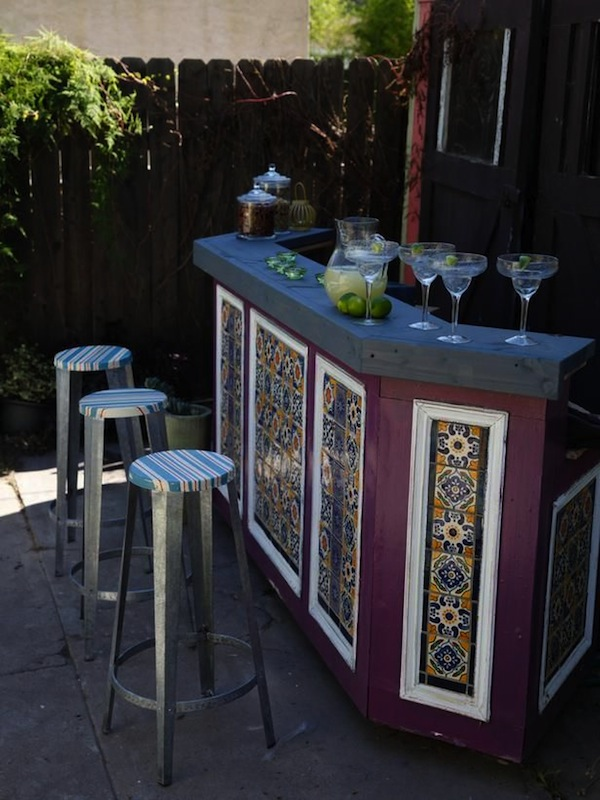Whimsical Bar Stools Large & Small: Cool Outdoor Bars You'll Love | Artisan