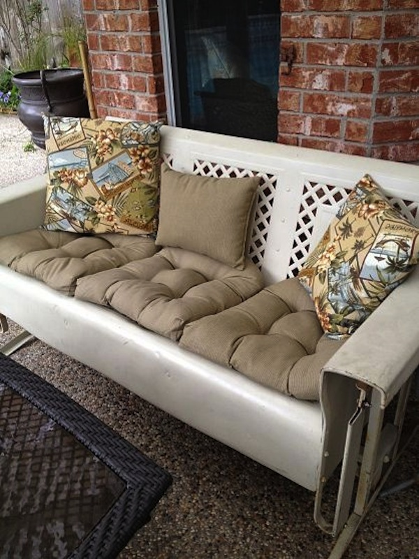 outdoor wrought iron chair cushions high capacity office about vintage gliders   artisan crafted furnishings and decor blog