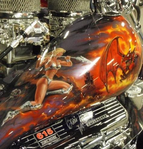 art plus 615 CID of V8 power