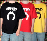 Youth Paul Senior Mustache Tee