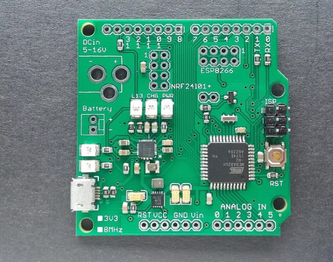 nRF24L01-arduino-board