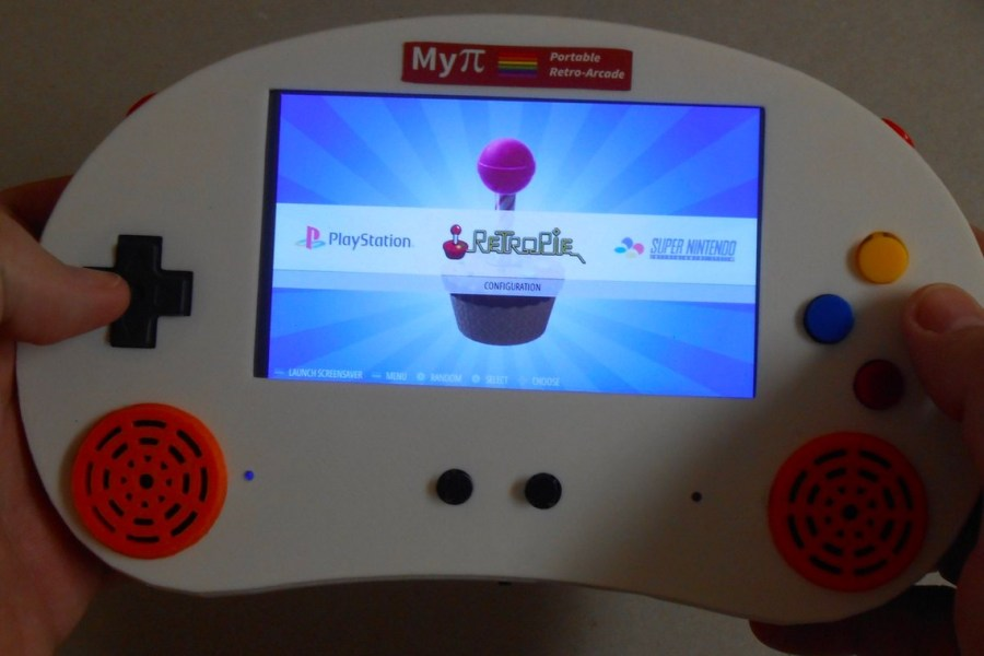 Build Your Own Handheld With the MyPi Arcade Kit